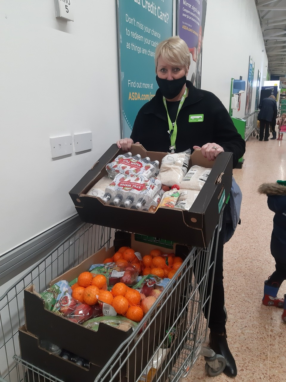 Online fundraising for White Feather Project | Asda Middlesbrough