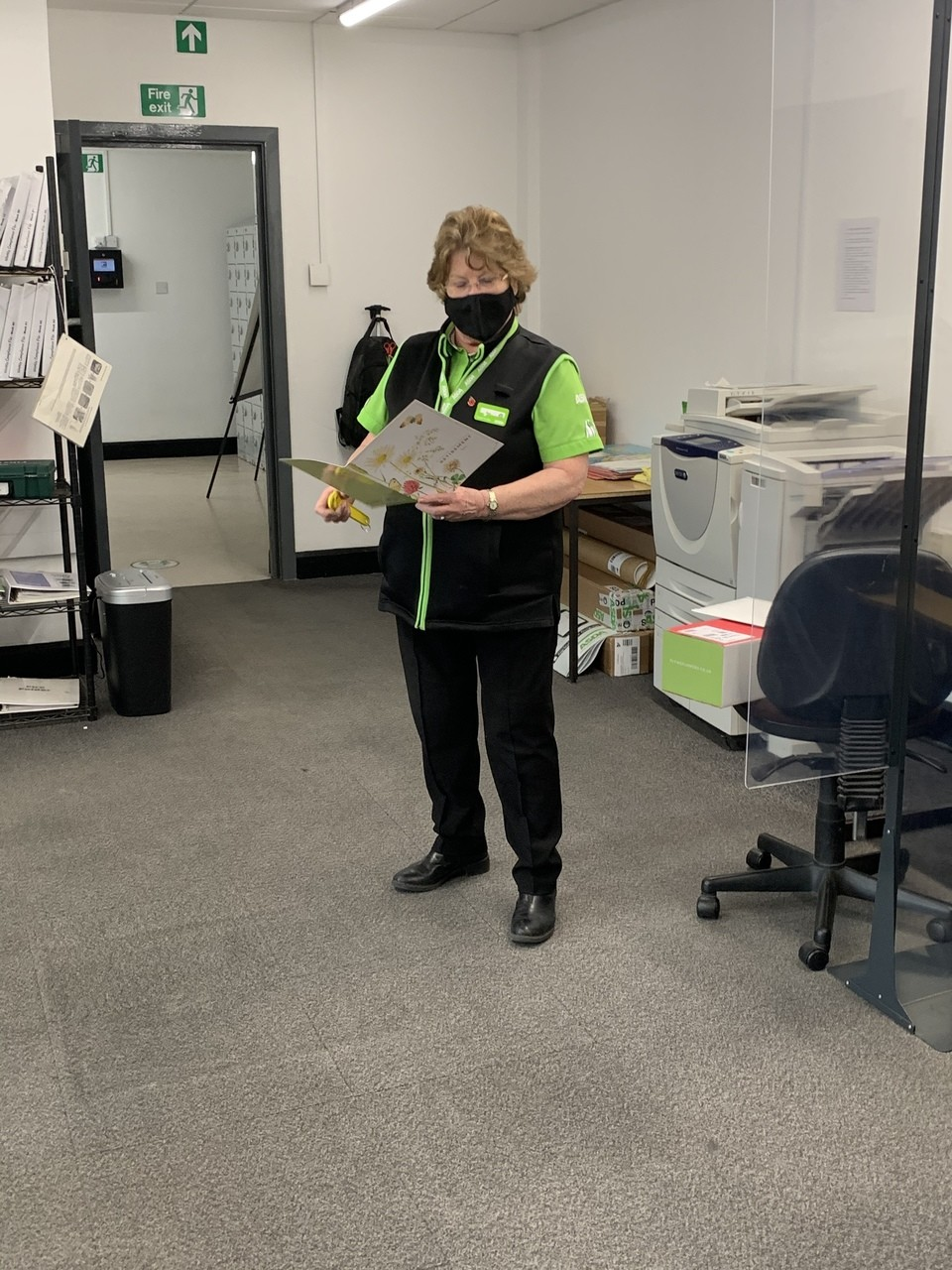 Ann retires | Asda Stowmarket