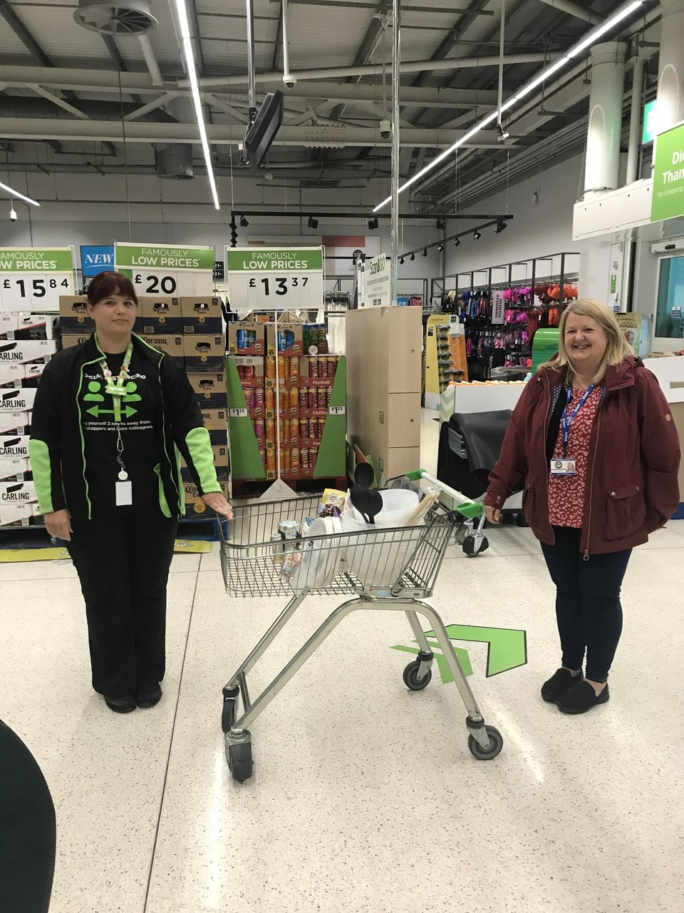 Donation to Phillipstown School | Asda Blackwood