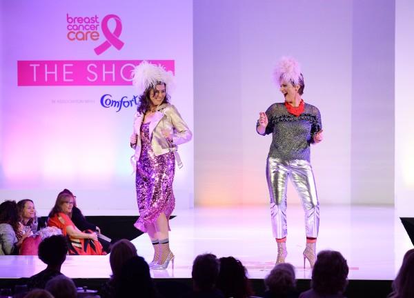 Asda's Jo Henderson at the Breast Cancer Care fashion show