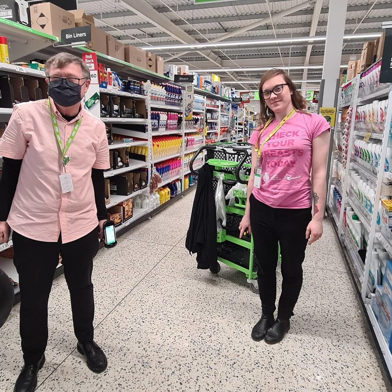 Tickled Pink Weekend | Asda Newport Isle of Wight