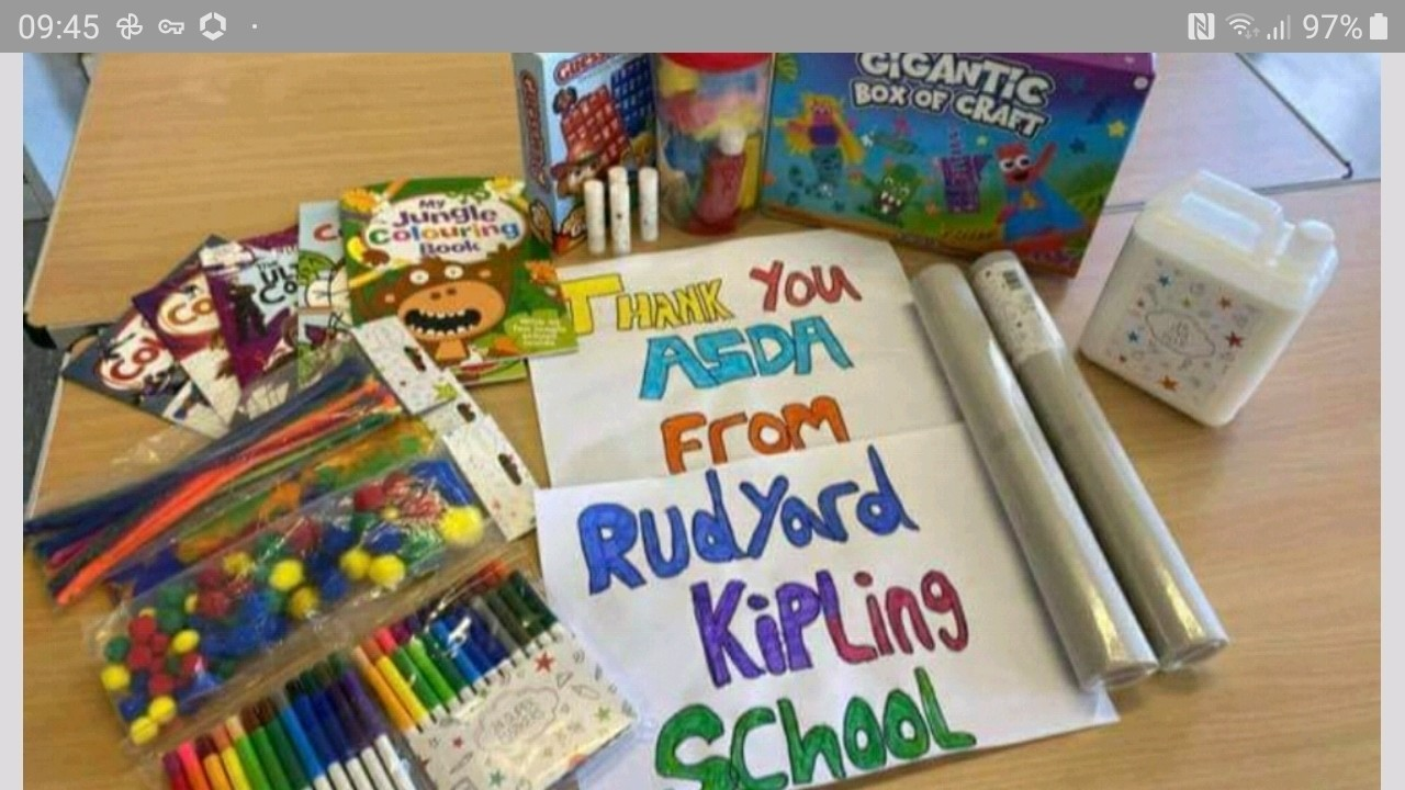 Brighton Marina getting creative with local schools donation | Asda Brighton Marina
