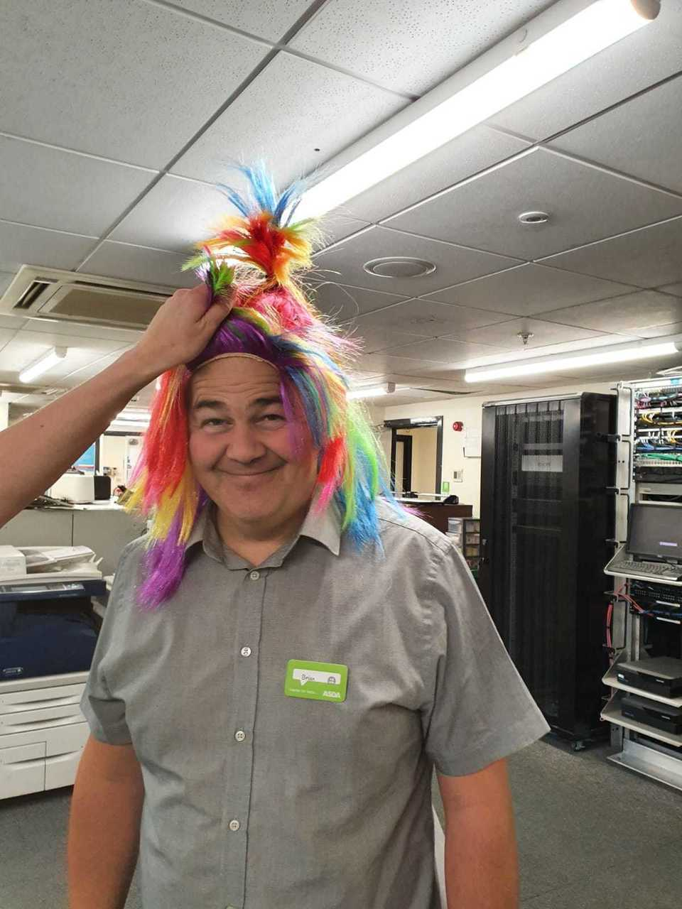Supporting Derby Pride from store | Asda Derby