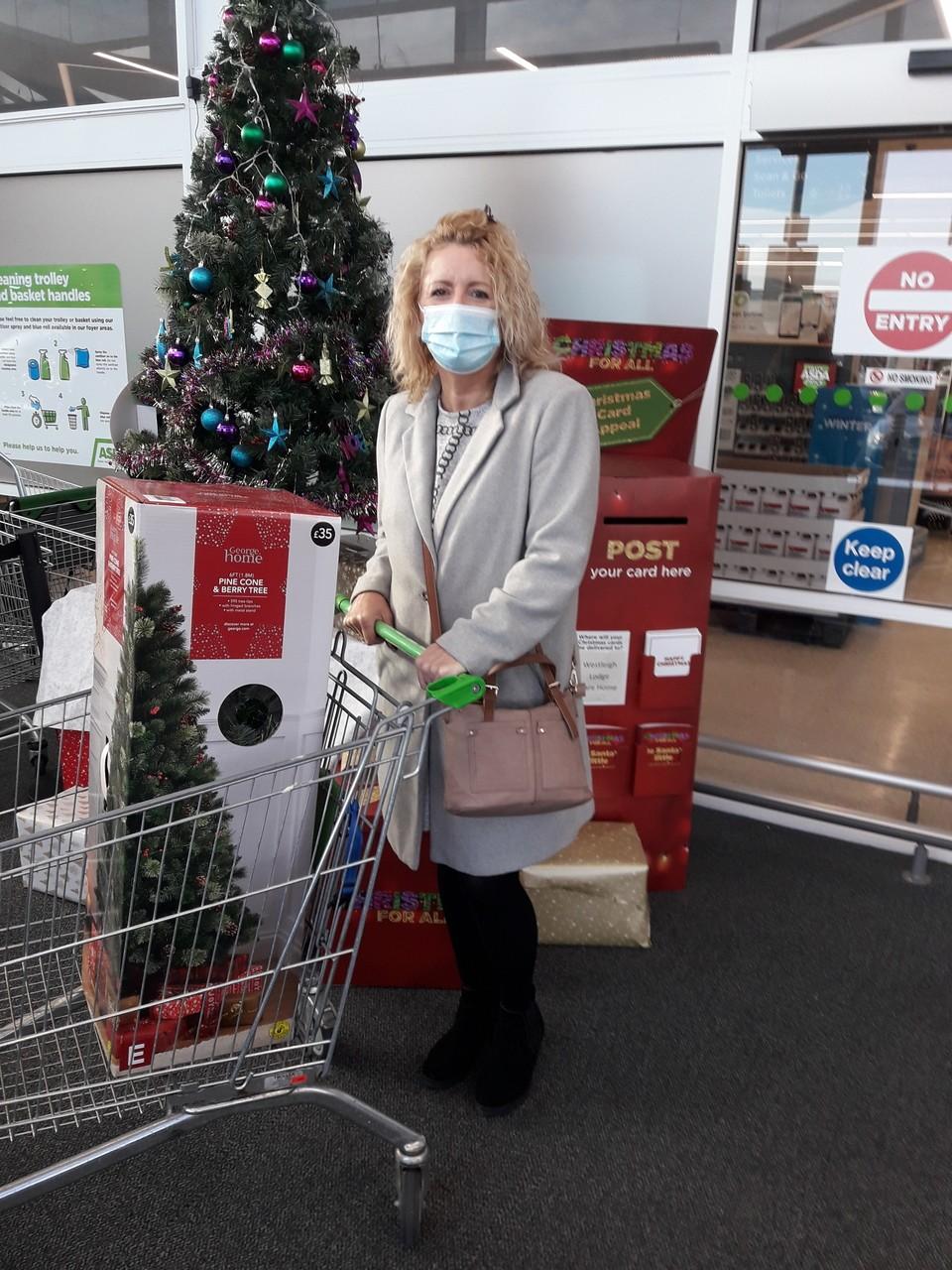 Christmas gift for Leigh Infirmary | Asda Leigh
