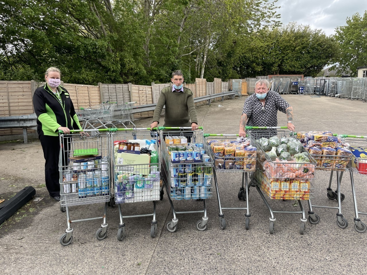 Friends of Stour Connect receive their grant from Asda Foundation   Asda Gillingham