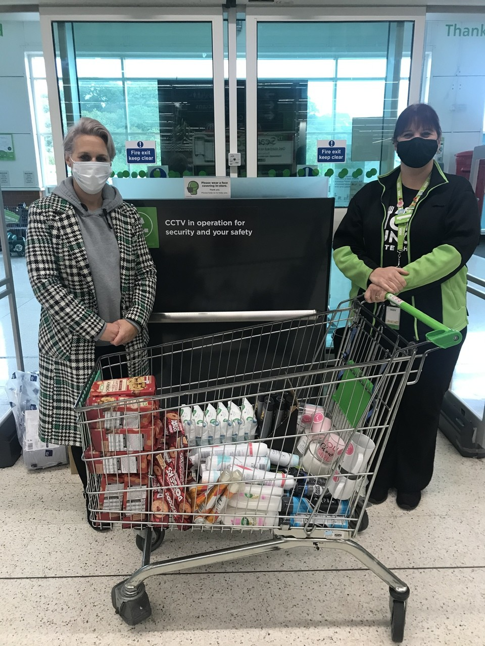 Donation to Platform | Asda Blackwood