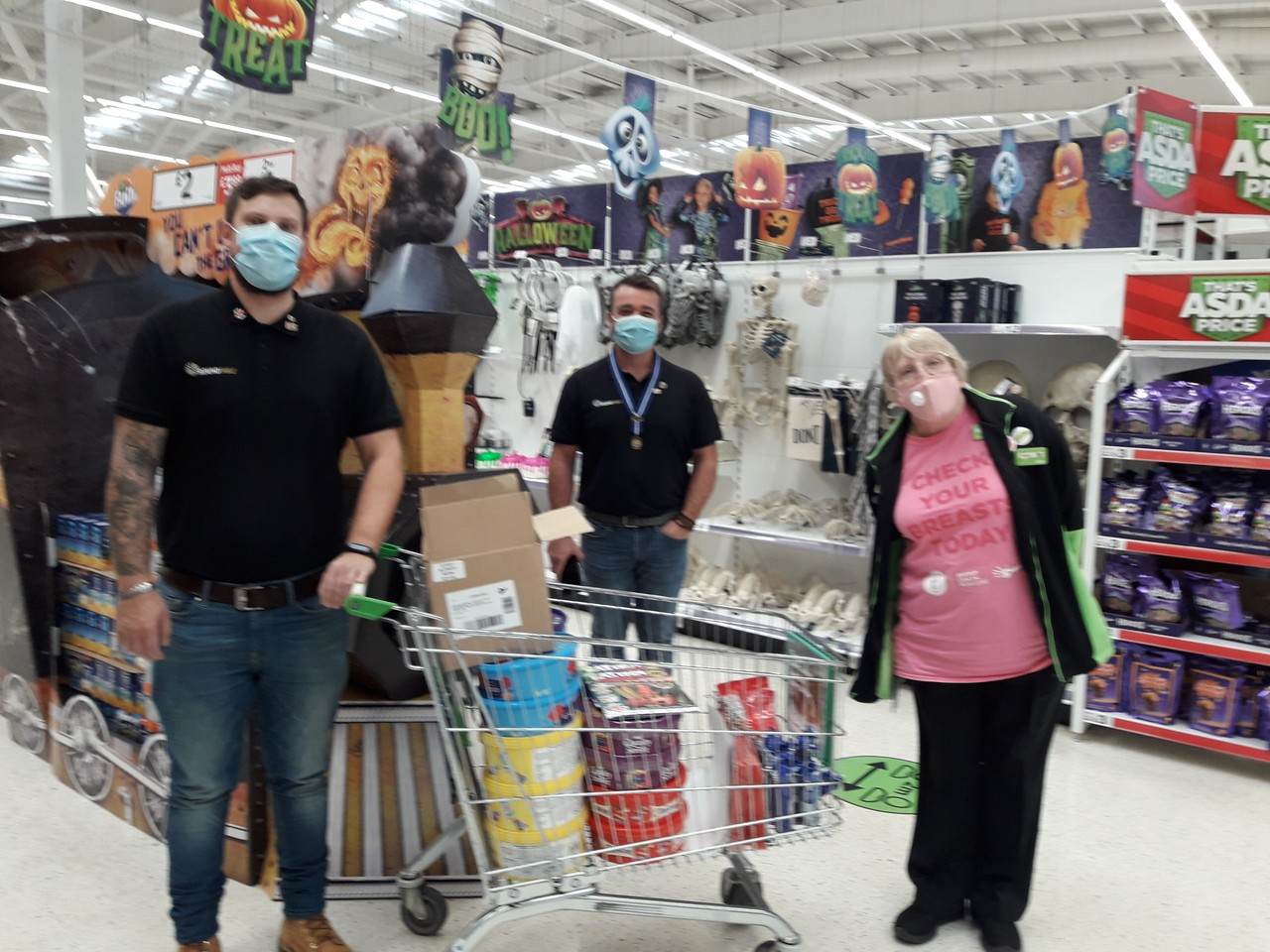 Donations to good causes | Asda Queensferry