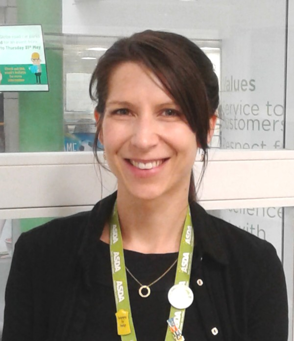 Asda's Data Protection Officer Amy Travis