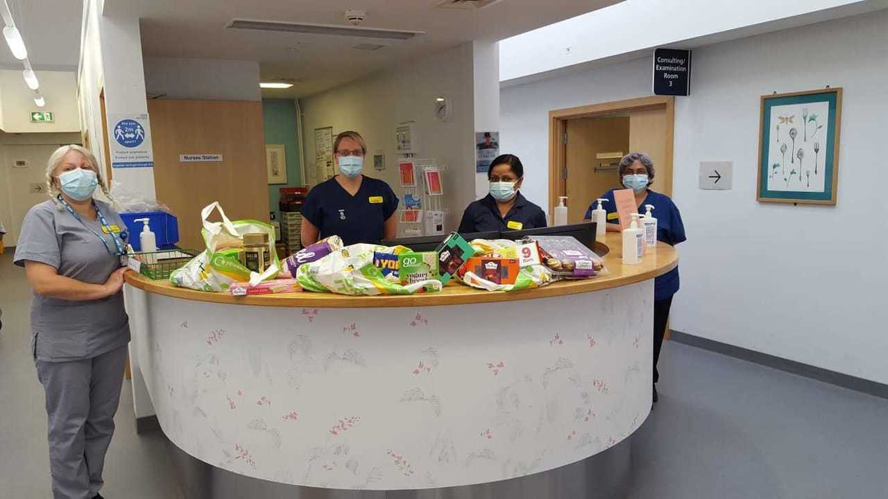 Donations for NHS staff at the Bristol Breast Care Centre  | Asda Longwell Green
