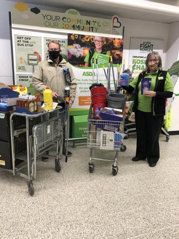 Asda Tilehurst flood donation