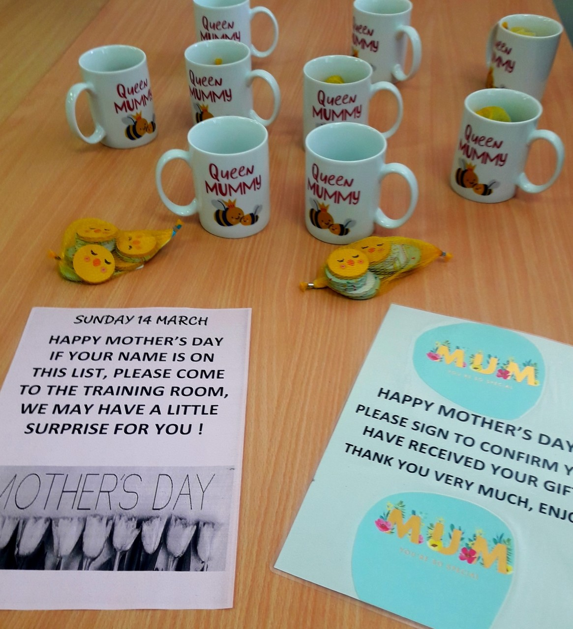 Celebrating Mother's'Day at Brighton Marina | Asda Brighton Marina