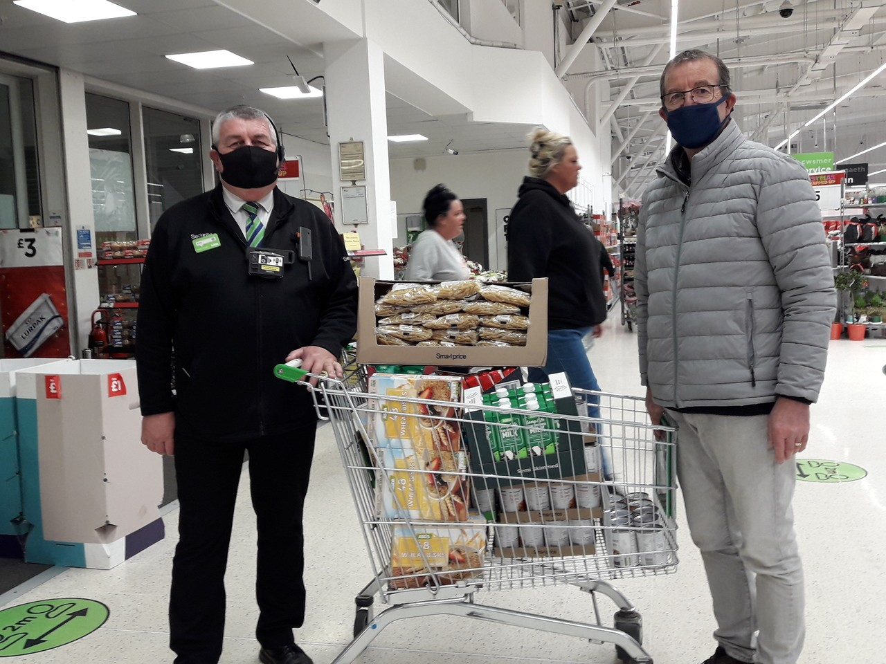 We love to help! | Asda Queensferry