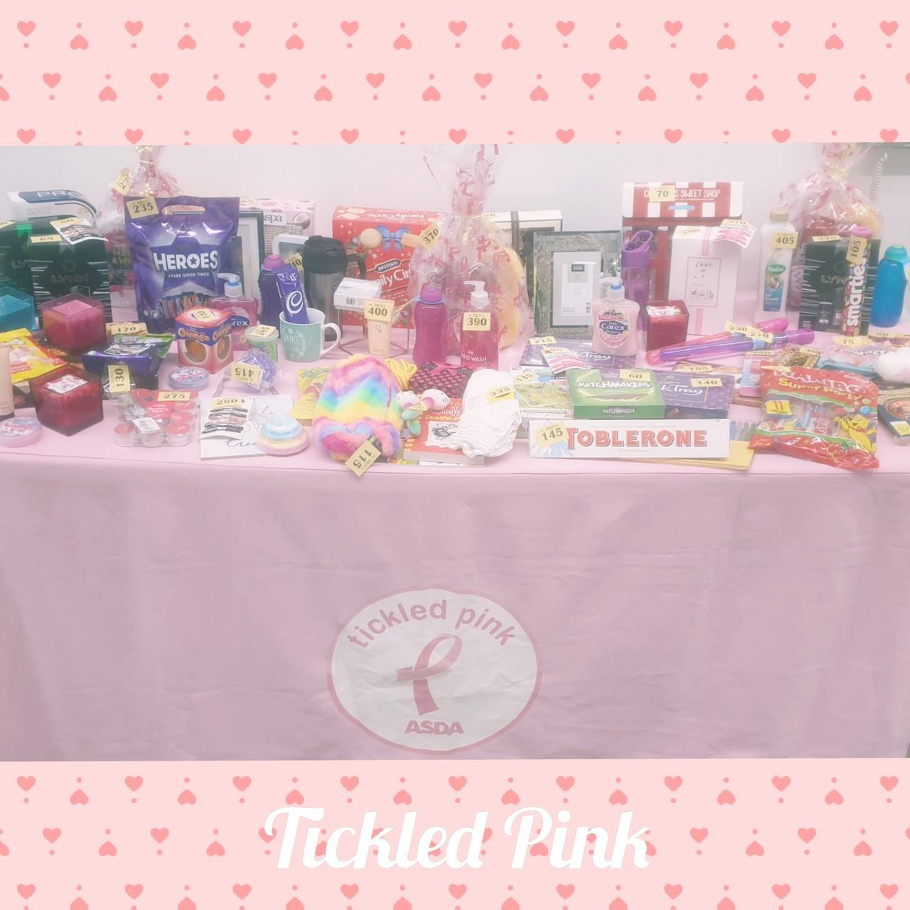 Tickled Pink fundraiser | Asda Fleetwood