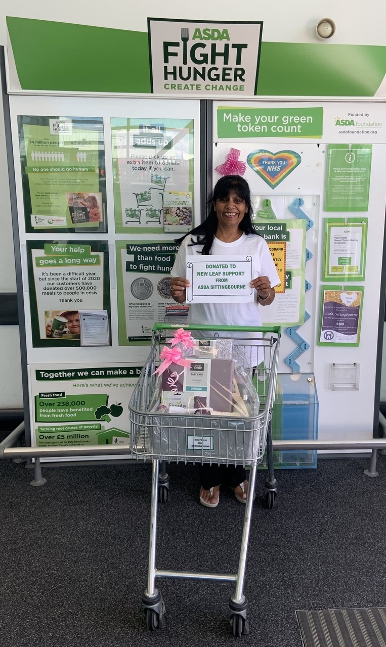Donation to Domestic Abuse - New Leaf Support | Asda Sittingbourne