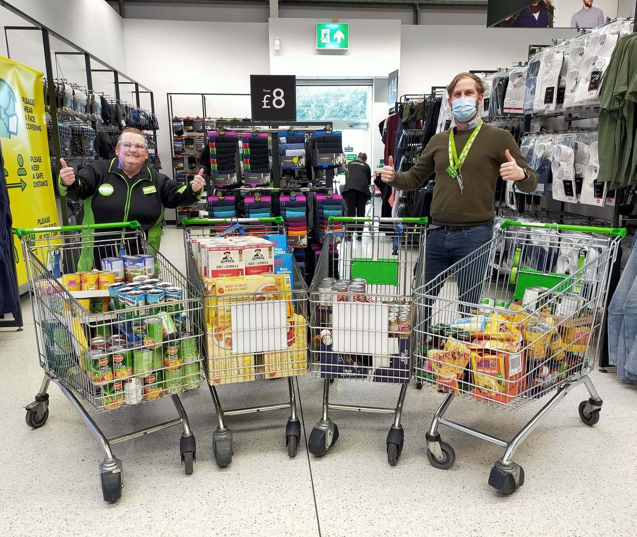 £500 grant for Southport Soup Kitchen | Asda Southport