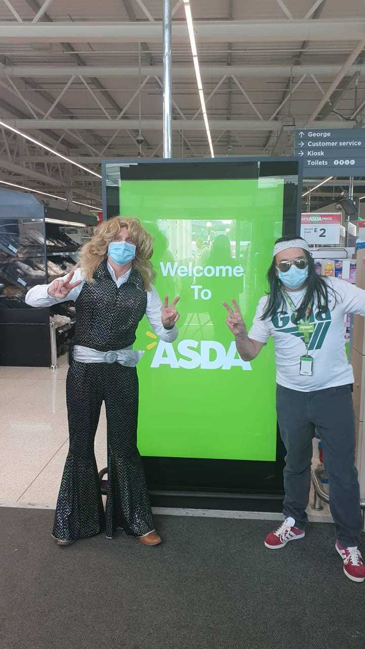 Back to the 70s | Asda Bishop Auckland