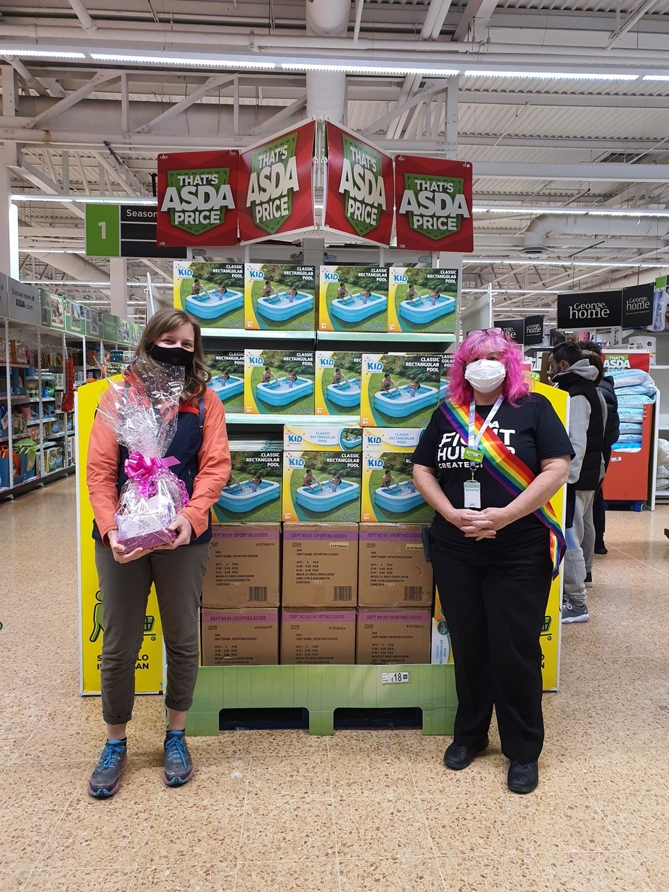Supporting International Nurses Day at Fosse Park | Asda Leicester
