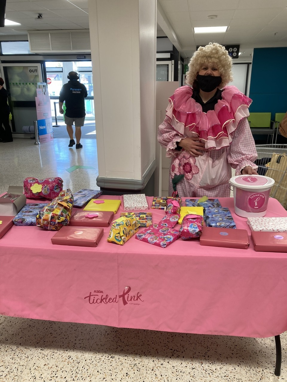 Tickled Pink lucky dip | Asda South Woodham Ferrers