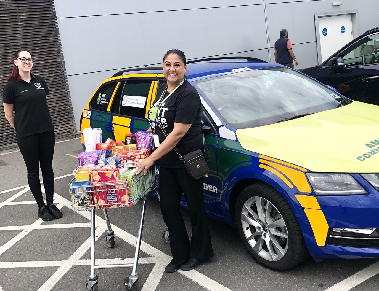 Donation to the Leicester University Community First Responders! | Asda Leicester Abbey Lane