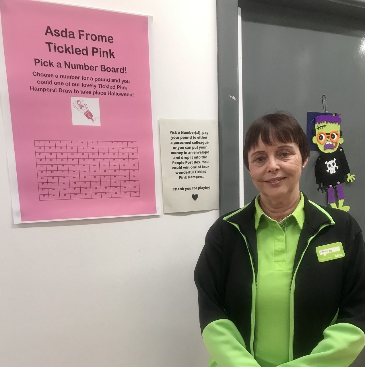 Pick a Number for Tickled Pink | Asda Frome