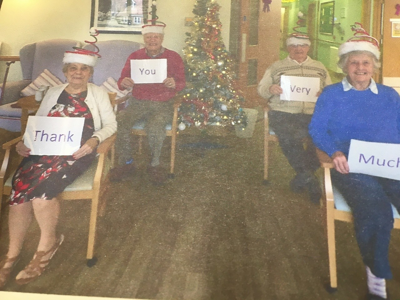 A lovely thank you from Orchid Care Home | Asda Swindon Haydon