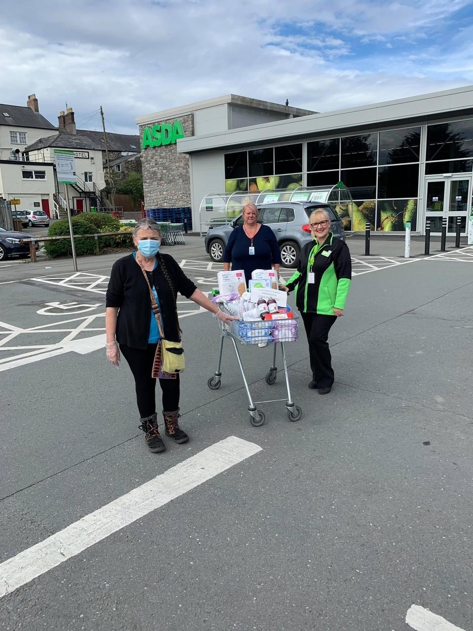Thank you to key workers atCartrefi Cymru Co-operative | Asda Pwllheli