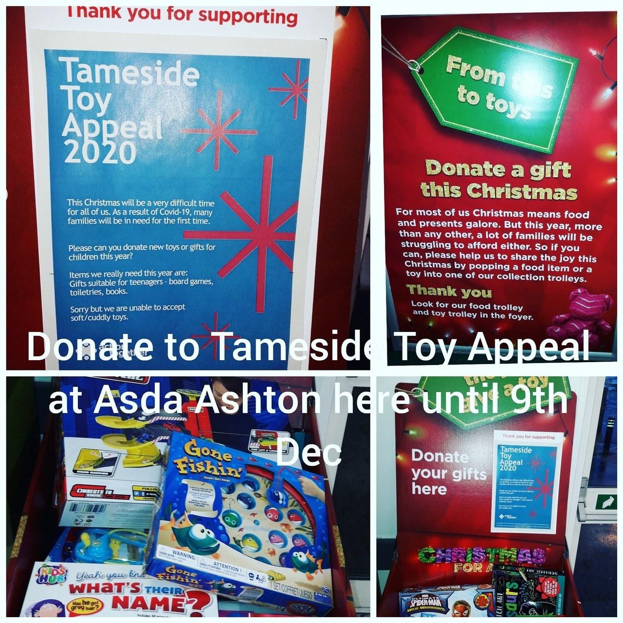 Tameside Toy Appeal | Asda Ashton