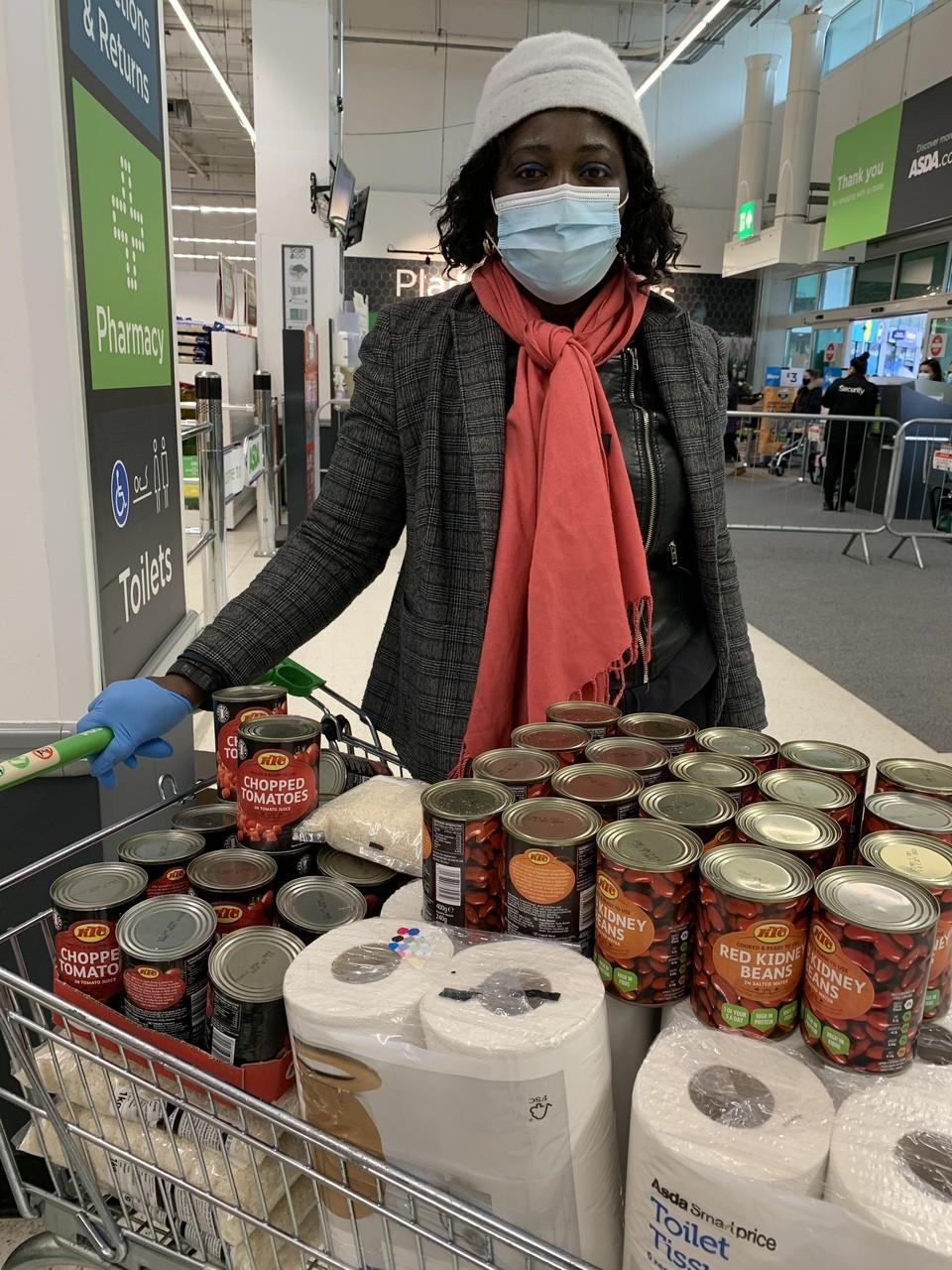 Community food parcels donation   Asda Feltham