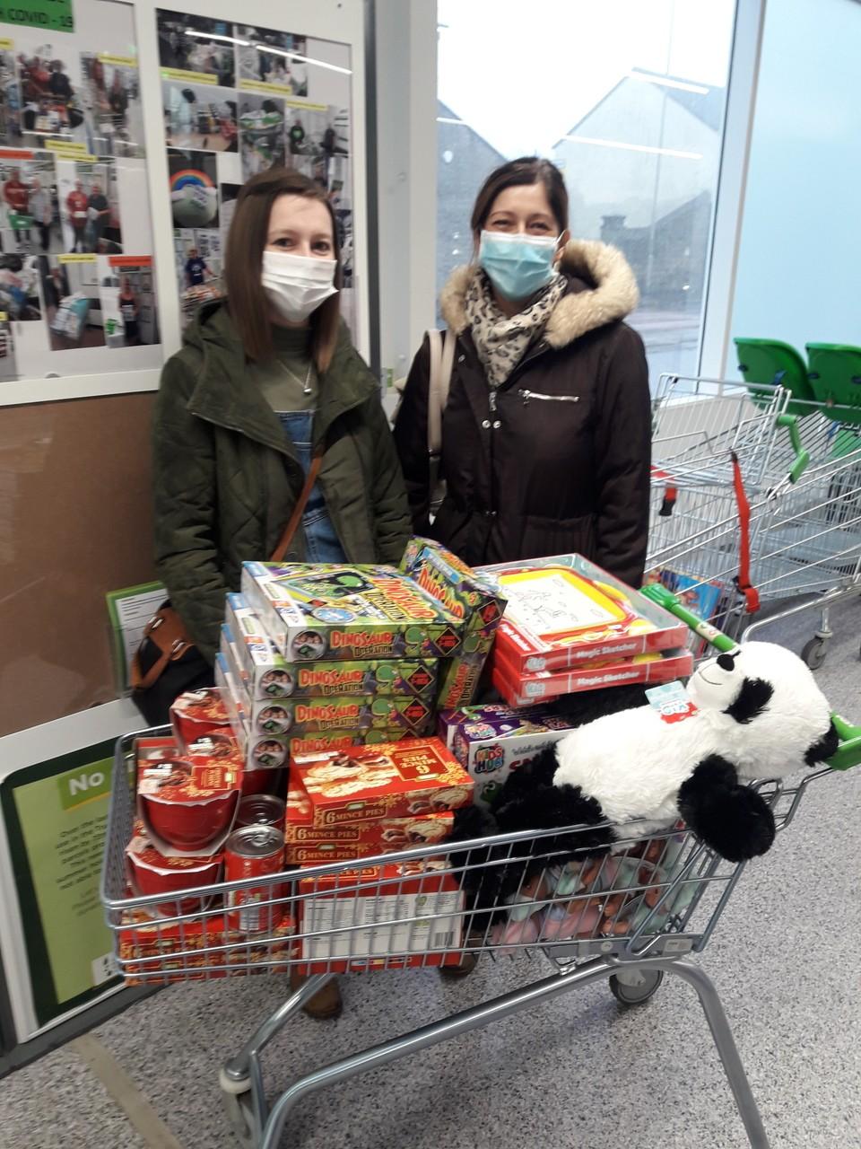 Donation to homeless team | Asda Sedgley
