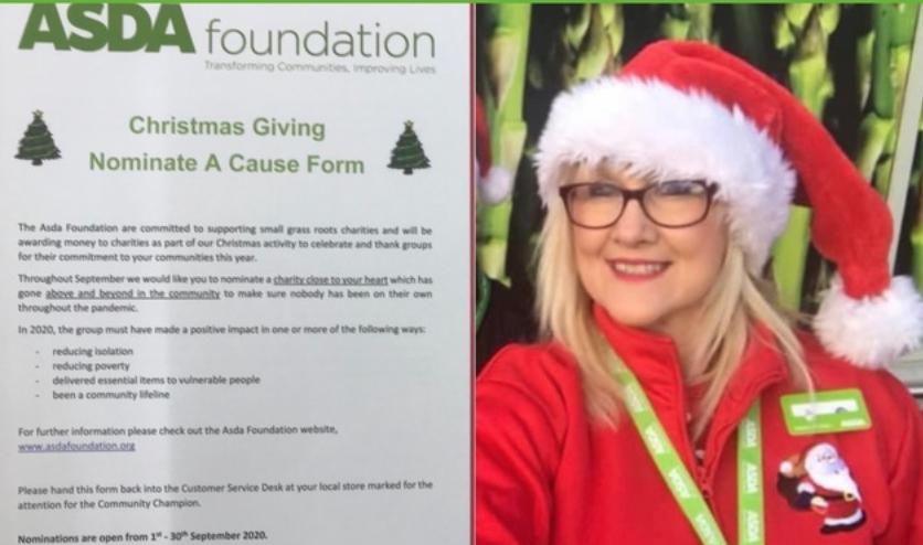 Christmas giving time | Asda Pwllheli
