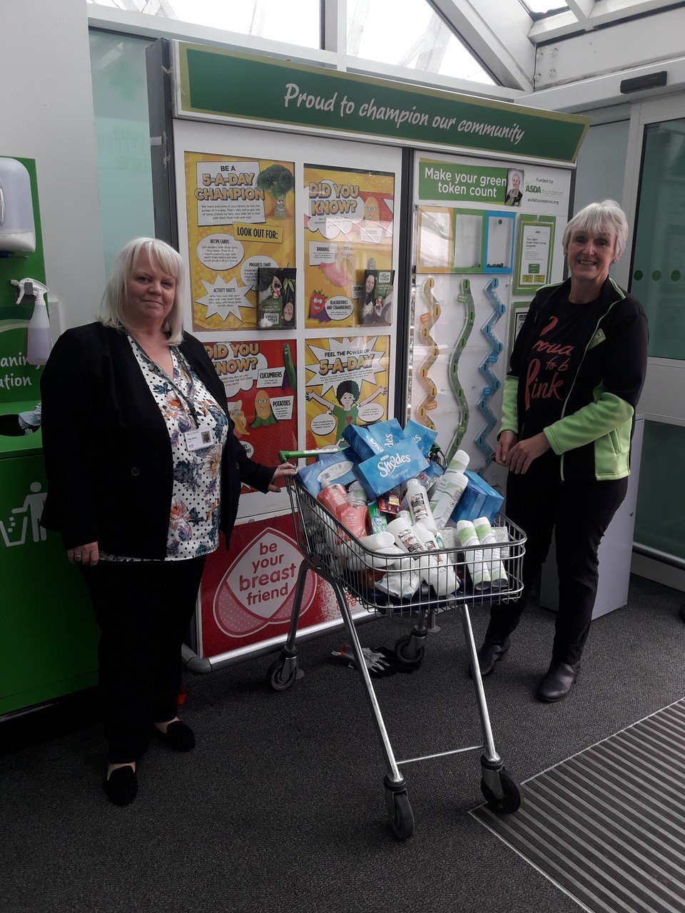 YMCA donation | Asda St Helens
