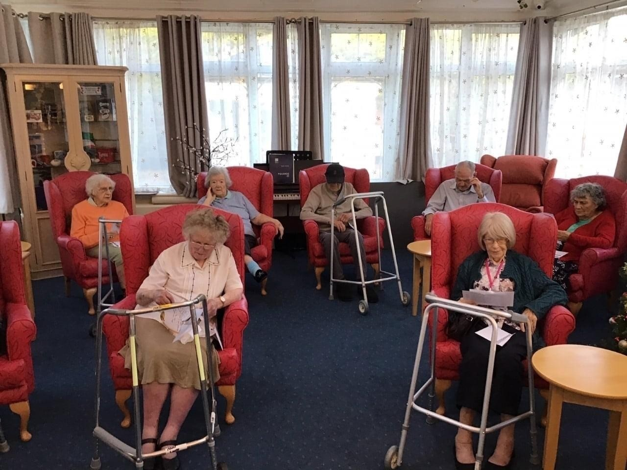 Care home residents say thanks | Asda Clacton-on-Sea