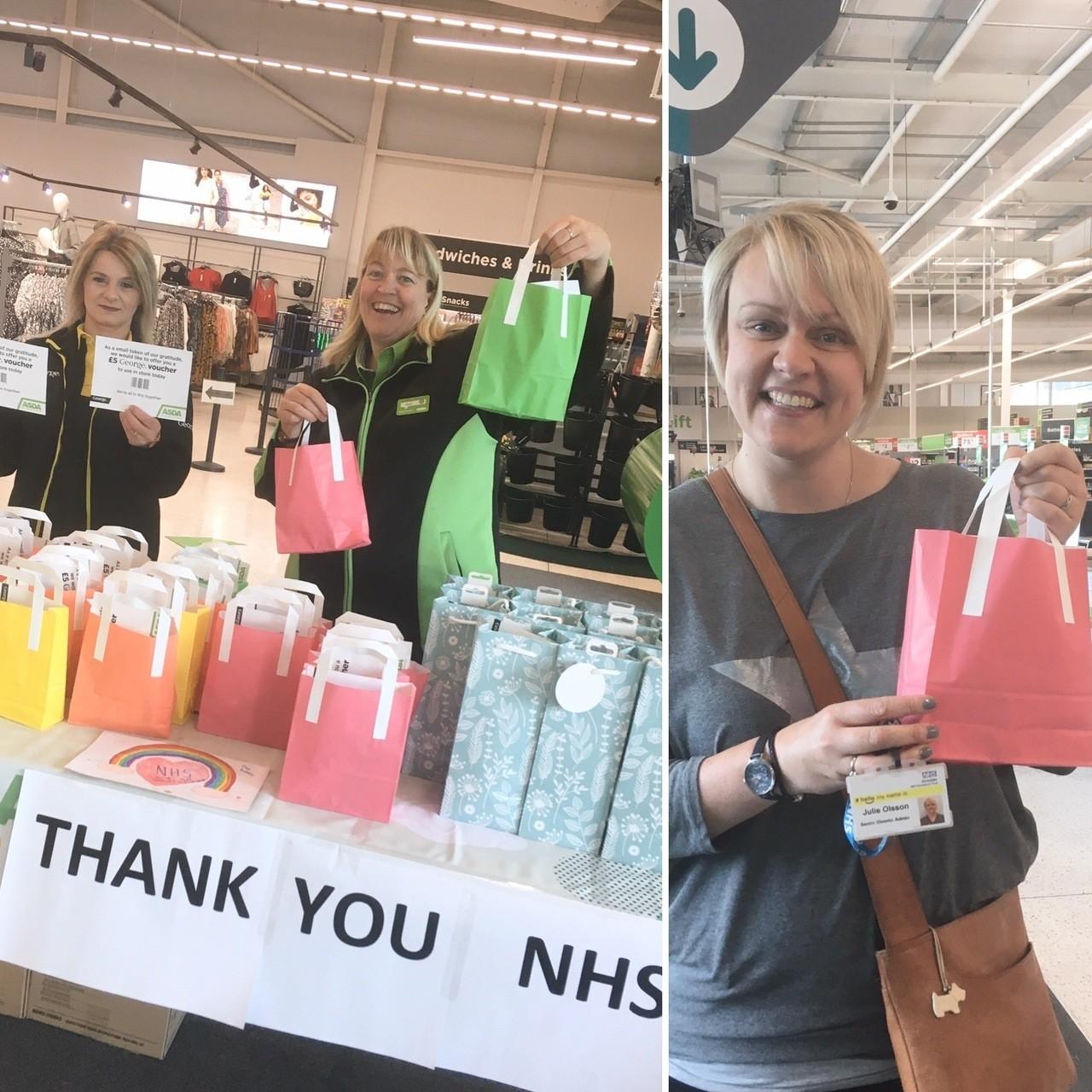 Thank You NHS | Asda Keighley