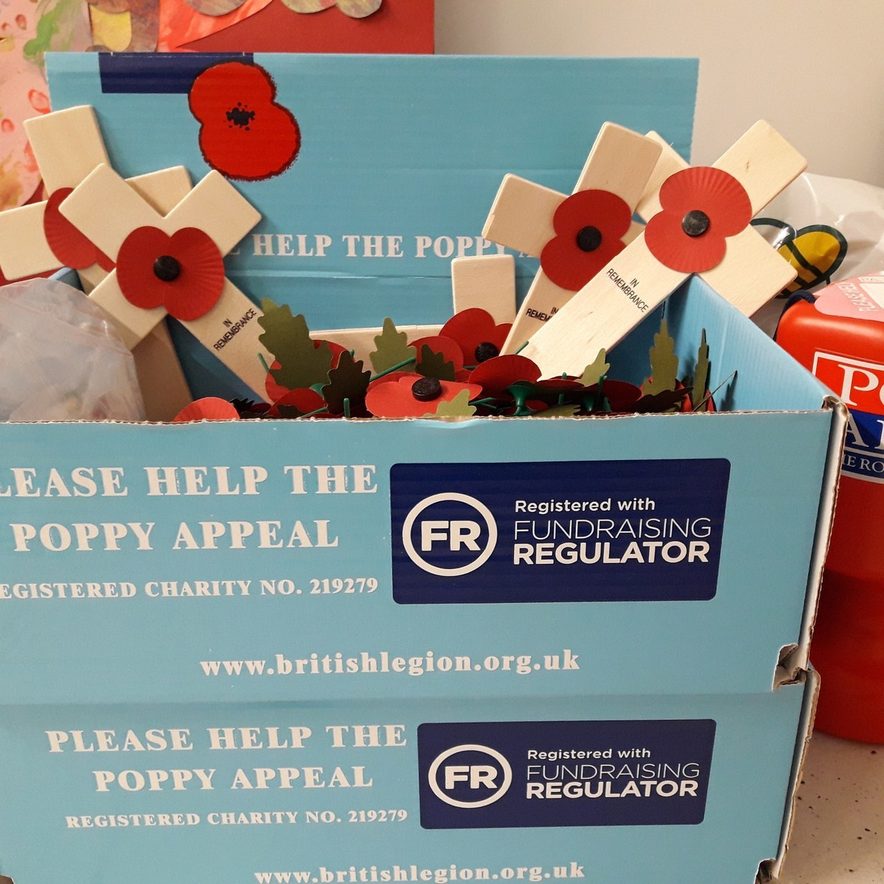 Royal British Legion Poppy Appeal  | Asda Rawtenstall