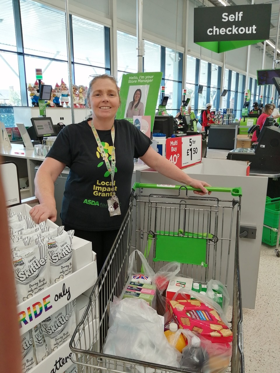 Donation to local care homes | Asda Newport Pillgwenlly