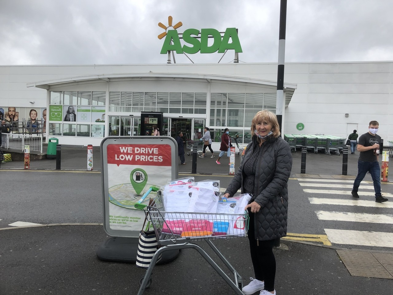 Togs Clothing Bank donation | Asda Derby