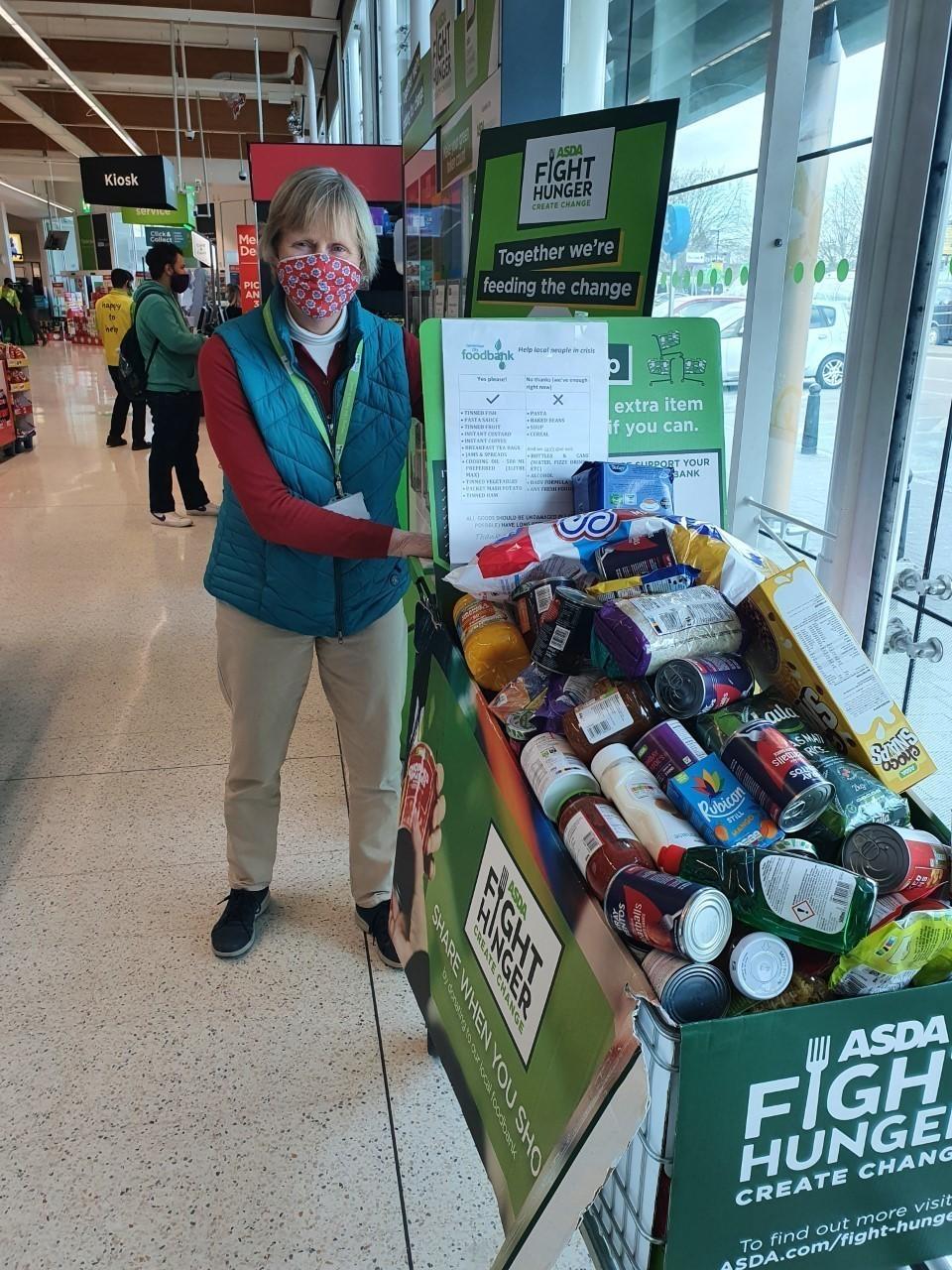 Helping fight hunger | Asda Cambridge