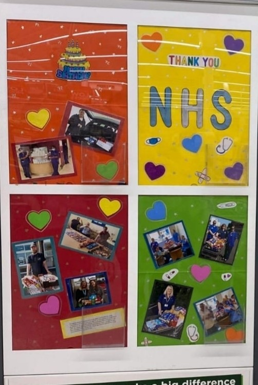 Hhappy birthday nhs | Asda Fareham
