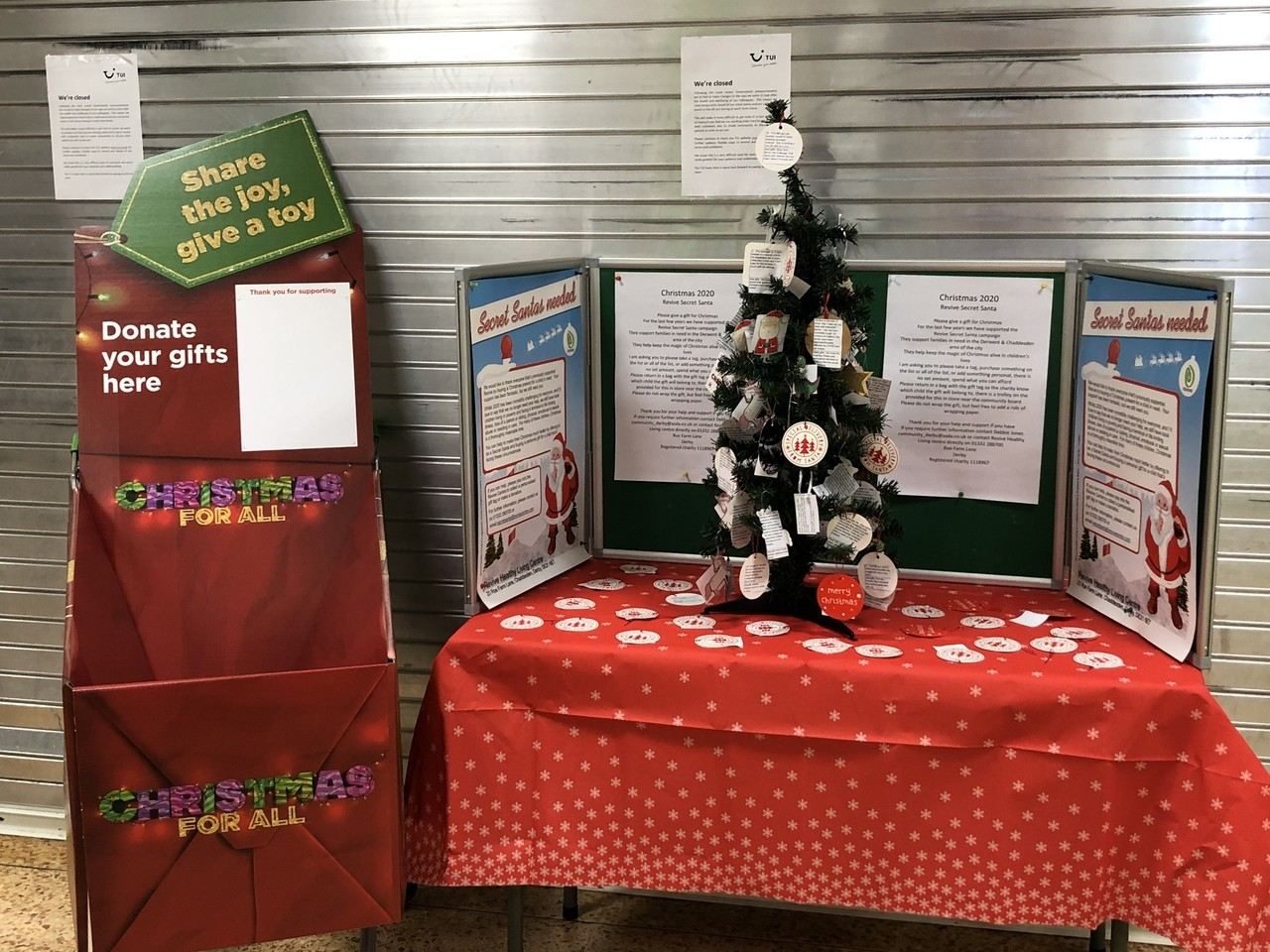Give a gift with Revive's Christmas Santa campaign | Asda Derby