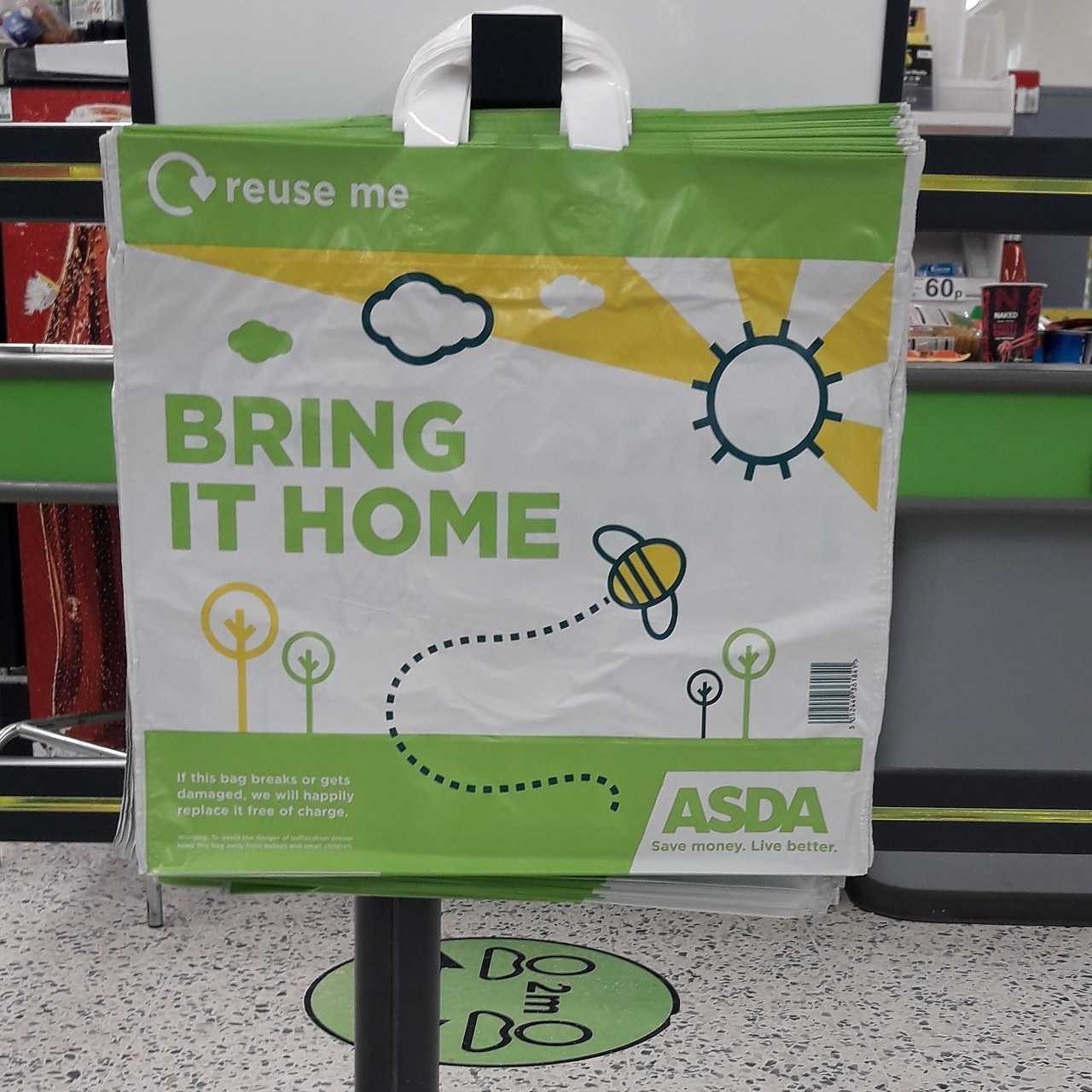 Donations going out today! | Asda Barry