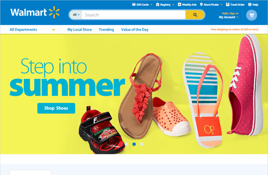 Website Redesign - Homepage