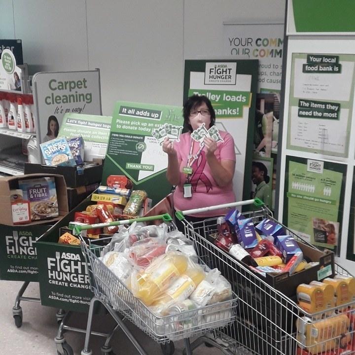 Fight Hunger Create Change support | Asda Middleton Park
