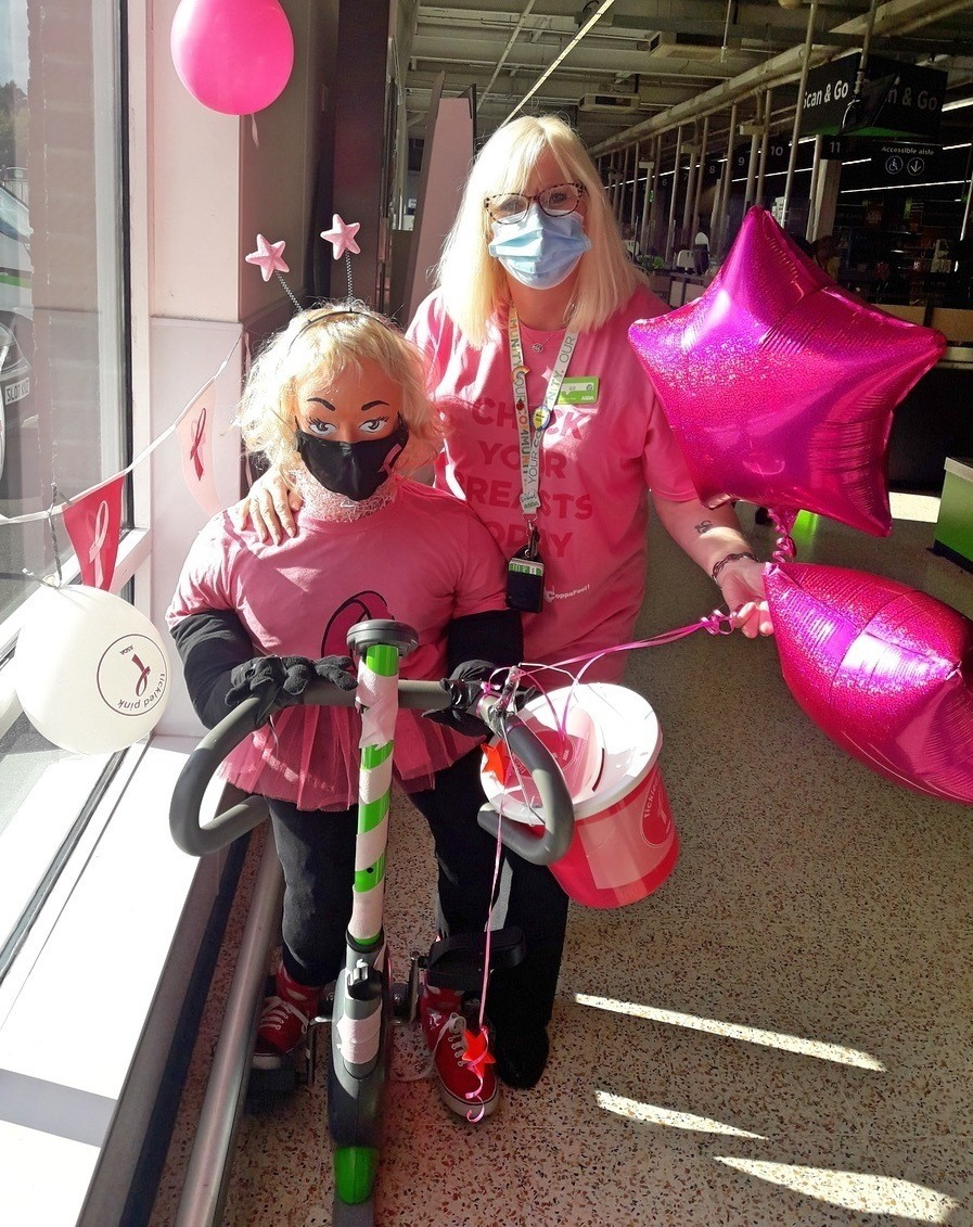 We're backing town scarecrow event and raising funds for Tickled Pink too | Asda Barrow