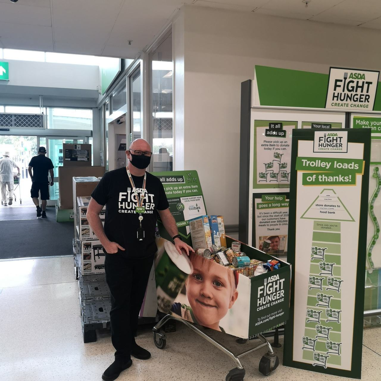 Fight Hunger Create Change support | Asda Long Eaton