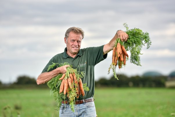 Asda carrot grower Guy Poskitt