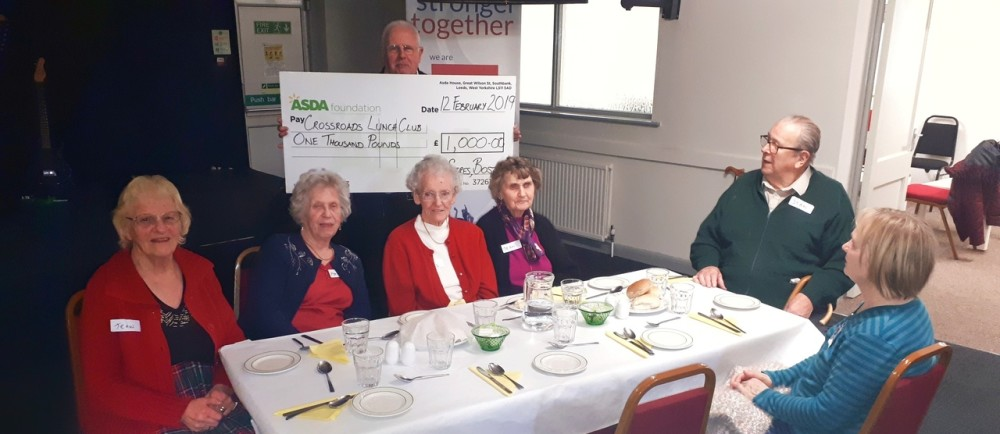 Crossroads Lunch Club | Asda Boston