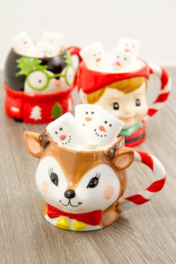Asda Christmas mugs