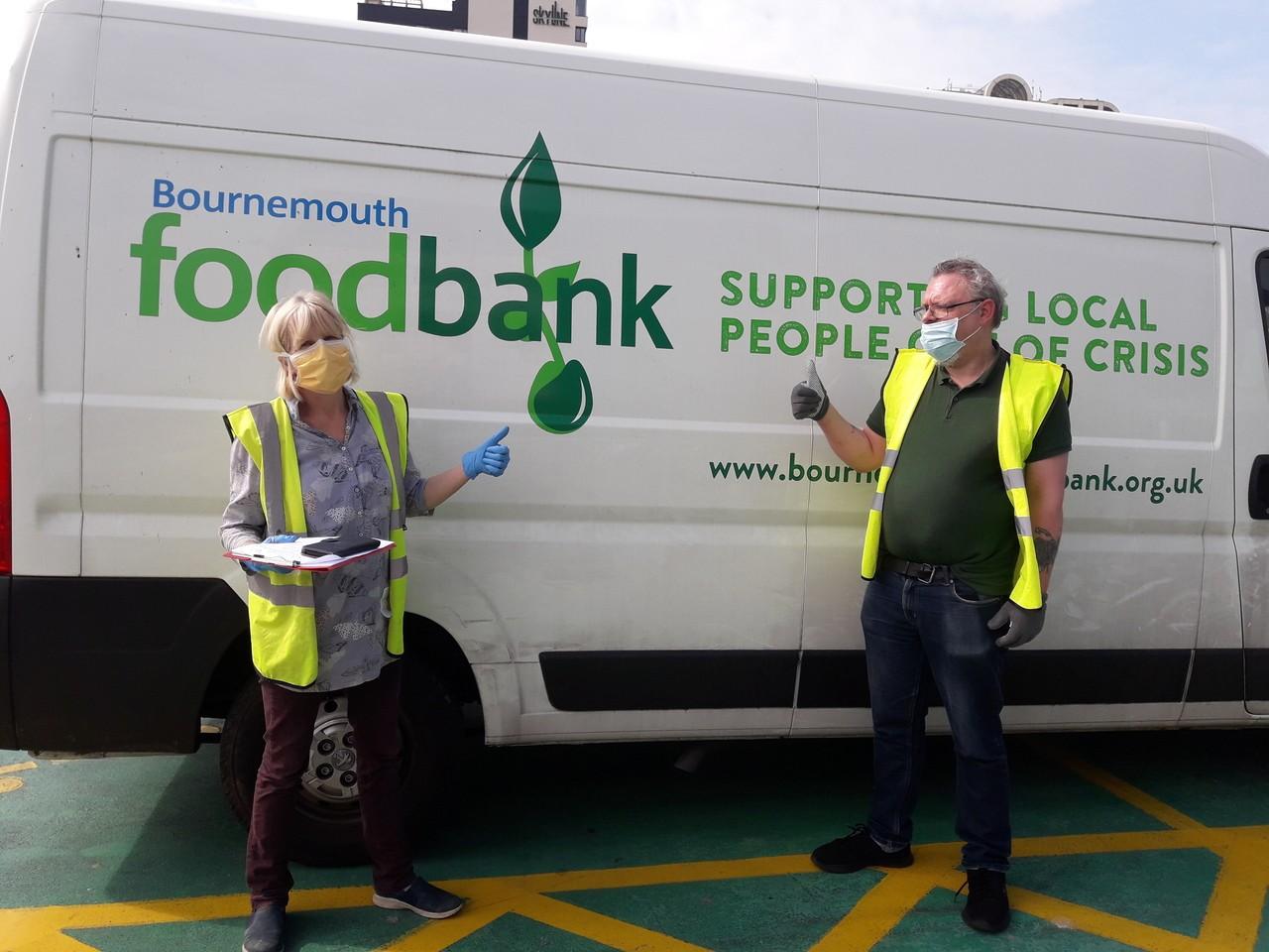 Bournemouth food bank donation | Asda Bournemouth