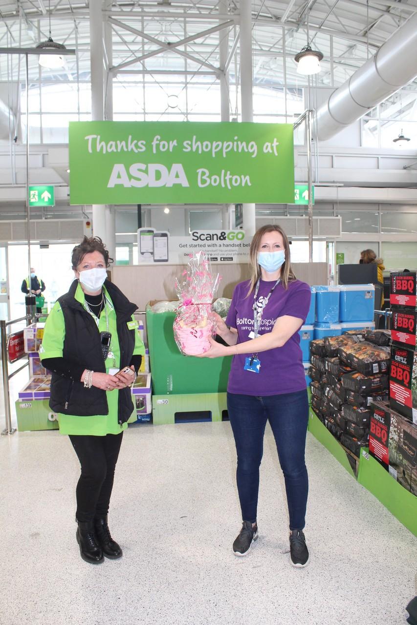 Bolton store fund rasing for Bolton Hospice. | Asda Bolton