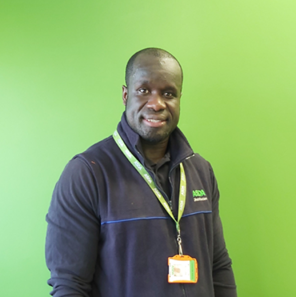 Mustapha Sarrsanneh from Asda Wakefield CDC